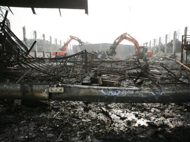 30 Menschen wurden bei dem Brand verletzt. Foto: David Young/dpa