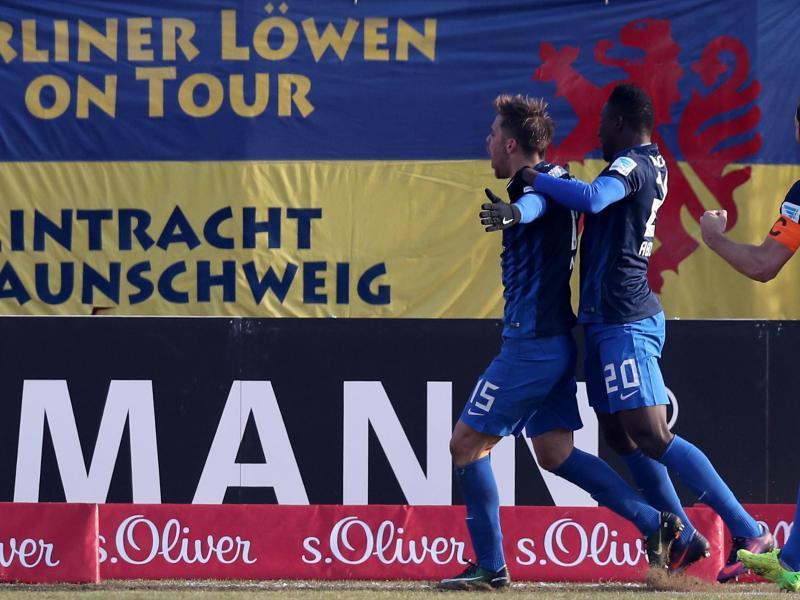Nyman rettet Braunschweig einenPunkt inWürzburg