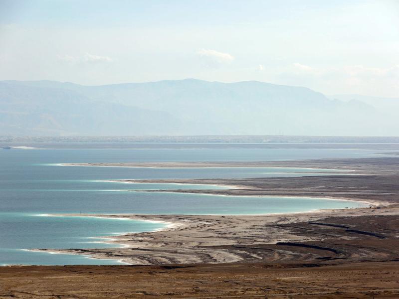 Totes Meer in Gefahr: Der Salzsee braucht dringend Wasser
