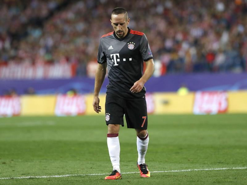 Ribéry fällt voraussichtlich zwei Wochen aus
