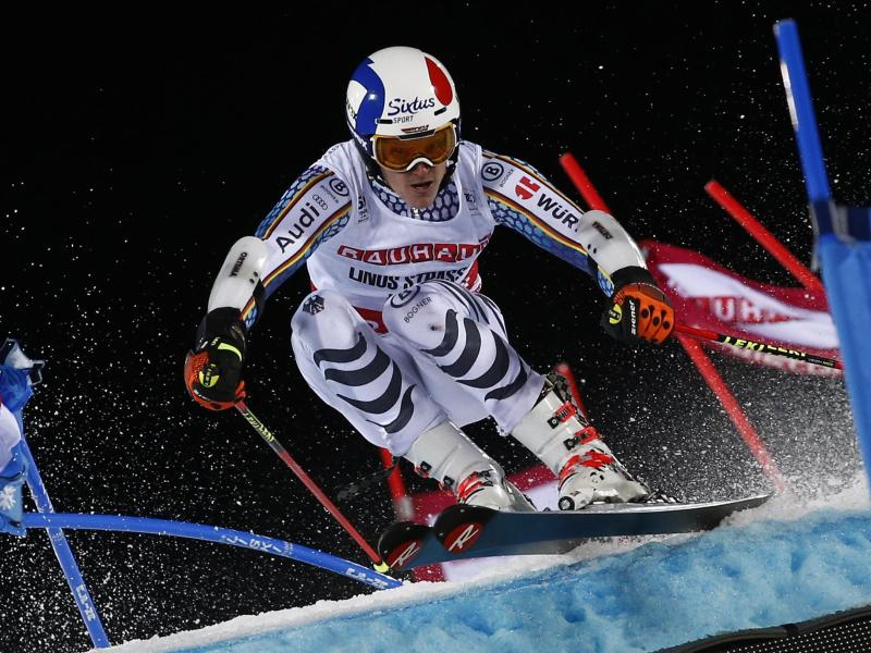Letztes Rennen vor Ski-WM:Straßer holt ersten Weltcup-Sieg