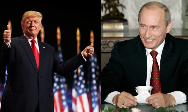 Die Präsidenten der USA und Russlands wollen telefonieren. Foto: Joe Raedle/Getty Images ALEXEY & PANOV/AFP/Getty Images