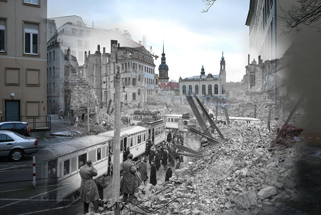 """""""Die größte Lüge der Weltgeschichte"""" – Redner auf Dresden-Demo ziehen Holocaust in Zweifel"""