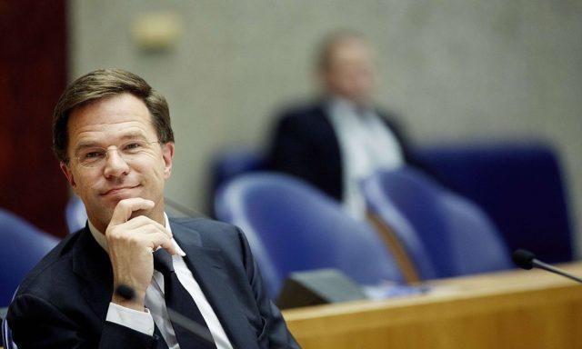 Der niederländische Premierminister Mark Rutte. Foto: BART MAAT/AFP/Getty Images