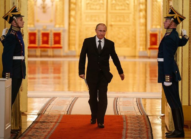 Russlands Präsident Wladimir Putin Foto: SERGEI ILNITSKY/AFP/Getty Images