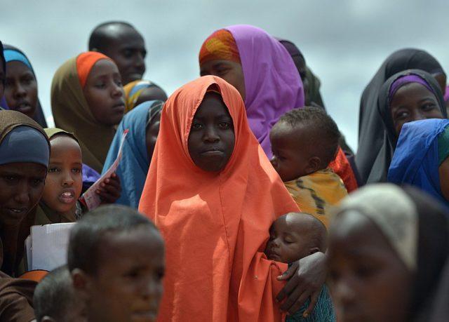 Flüchtlinge in Kenia. Foto: TONY KARUMBA/AFP/Getty Images