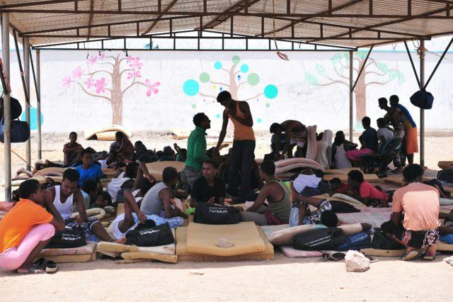 Migranten im ostafrikanischen Dschibuti (Symbolbild) Foto: SIMON MAINA/AFP/Getty Images