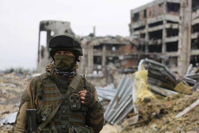 Ukraine-Konflikt. 1. Juni 2016. Foto: ALEKSEY FILIPPOV/AFP/Getty Images
