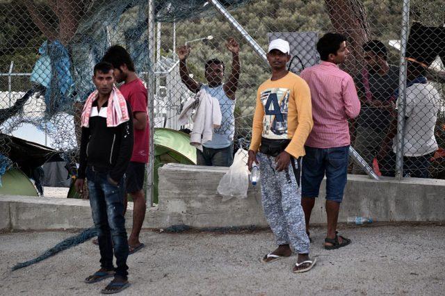 Flüchtlinge in Griechenland. (Symbolbild) Foto: LOUISA GOULIAMAKI/AFP/Getty Images