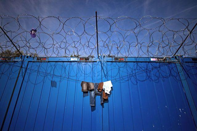 Flüchtlingslager in Ungarn. 29. September 2016. Foto: ANDREJ ISAKOVIC/AFP/Getty Images