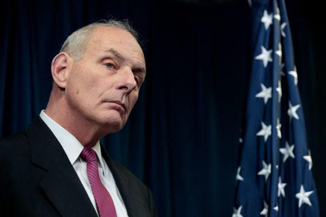 Heimatschutzminister John Kelly Foto: Drew Angerer/Getty Images