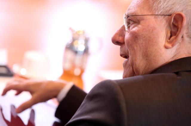 Bundesfinanzminister Wolfgang Schäuble Foto: Adam Berry/Getty Images