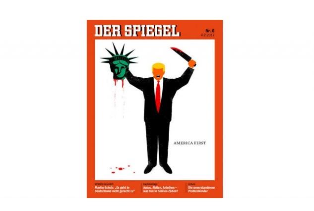 Schockierendes spiegel cover mit trump als henker sorgt for Spiegel cover 2017