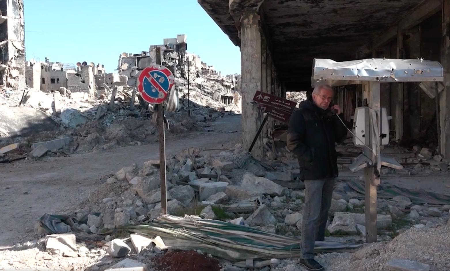 """Aus Aleppo nach München: """"Syrien braucht Frieden, den Stopp aller Waffenlieferungen an die Rebellen und medizinische Hilfe!"""""""