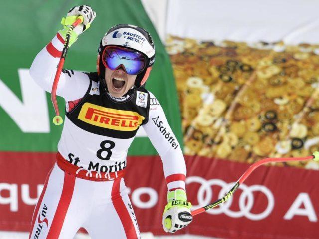 Die Österreicherin Nicole Schmidhofer gewann überraschend den Super-G. Foto: Peter Schneider/dpa