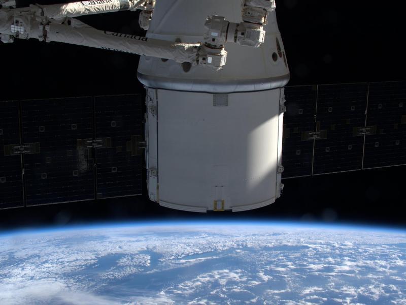 SpaceX-Raumfähre bringt zwei US-Astronauten erfolgreich zur ISS