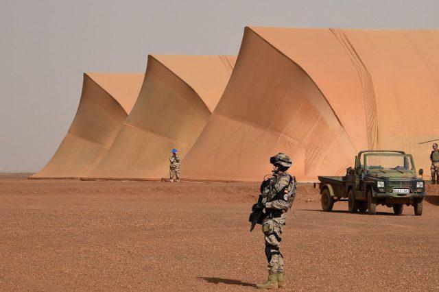 Europäische Soldaten in Mali. Foto: DOMINIQUE FAGET/AFP/Getty Images