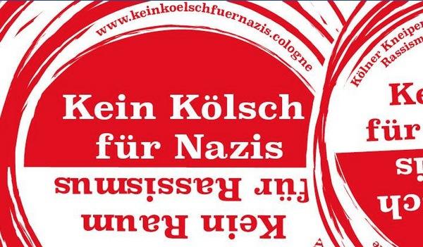 """""""Kein Kölsch für Nazis"""": Bierdeckel gegen AfD-Parteitag jetzt in Kölner Kneipen"""