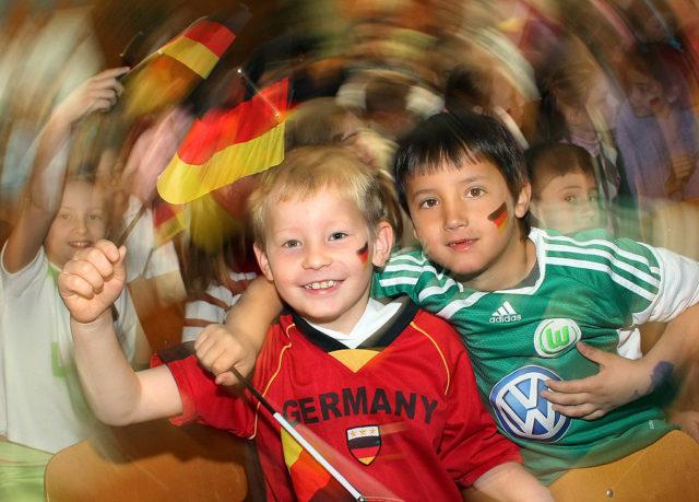 Kinder Foto: Lars Kaletta/Bongarts/Getty Images