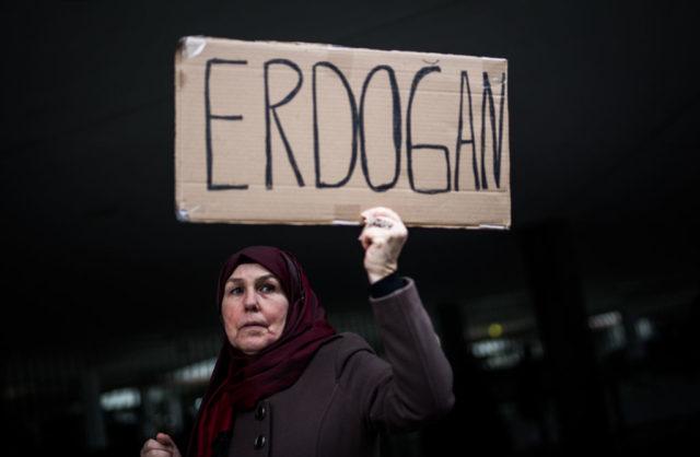Pro-Erdogan Demonstration in Leverkusen. Foto: Lukas Schulze/Getty Images