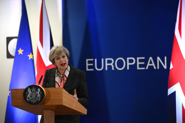 Die britische Premierministerin Theresa May Foto: Getty Images
