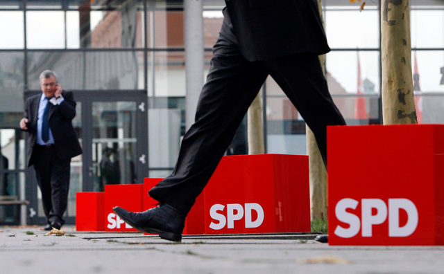 SPD-Logo Foto: SEBASTIAN WILLNOW/AFP/Getty Images