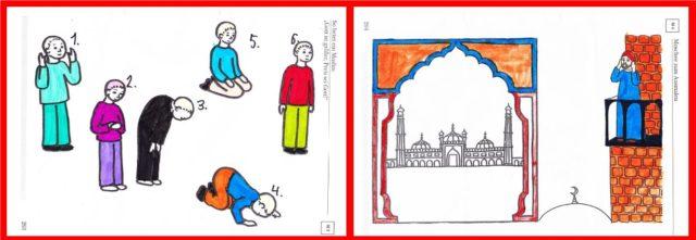 Rel.buch-Gebet.Moschee