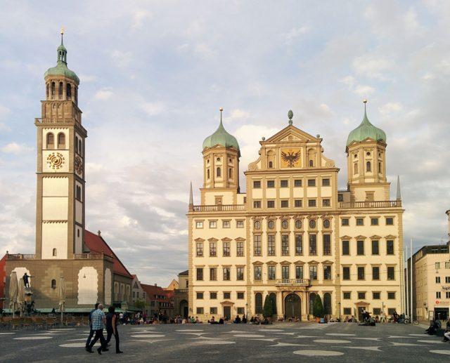 Augsburg. Foto: Public Domain