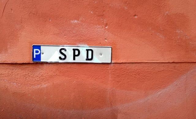 SPD-Parkschild Foto: über dts Nachrichtenagentur