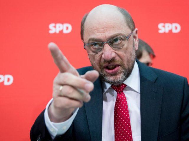 Der SPD-Spitzenkandidat für die Bundestagswahl, Martin Schulz. Foto: Kay Nietfeld/Archiv/dpa