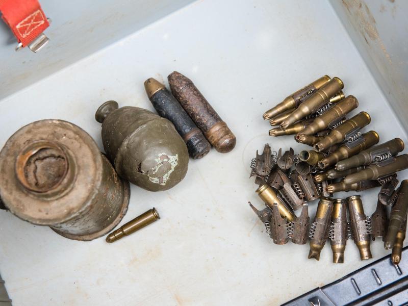 175 Sprengkörper bei Abriss von Scheune in Baden-Württemberg entdeckt