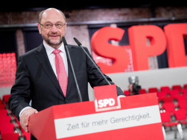 Der SPD-Parteitag findet mit der Wahl von Schulz zum neuen Parteivorsitzenden statt. Foto: Kay Nietfeld/dpa
