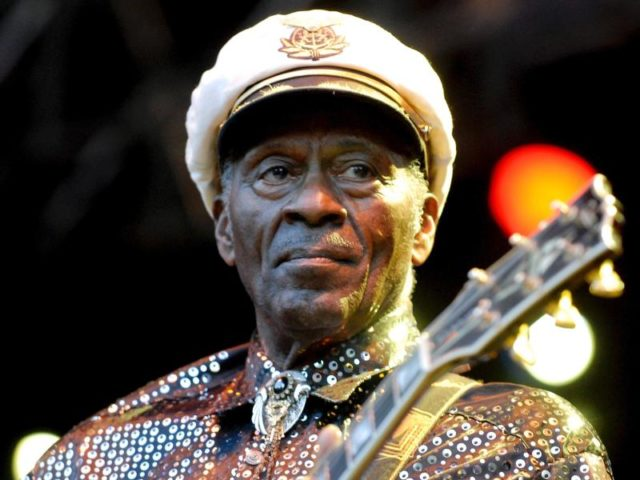 Chuck Berry ist tot. Foto: Britta Pedersen/dpa