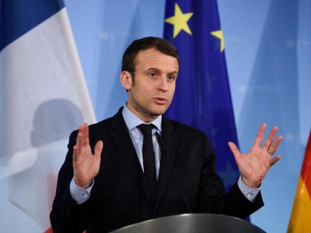 Der französische Präsident Emmanuel Macron. Foto: Rainer Jensen/dpa