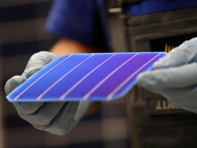 Flexible Solarzelle