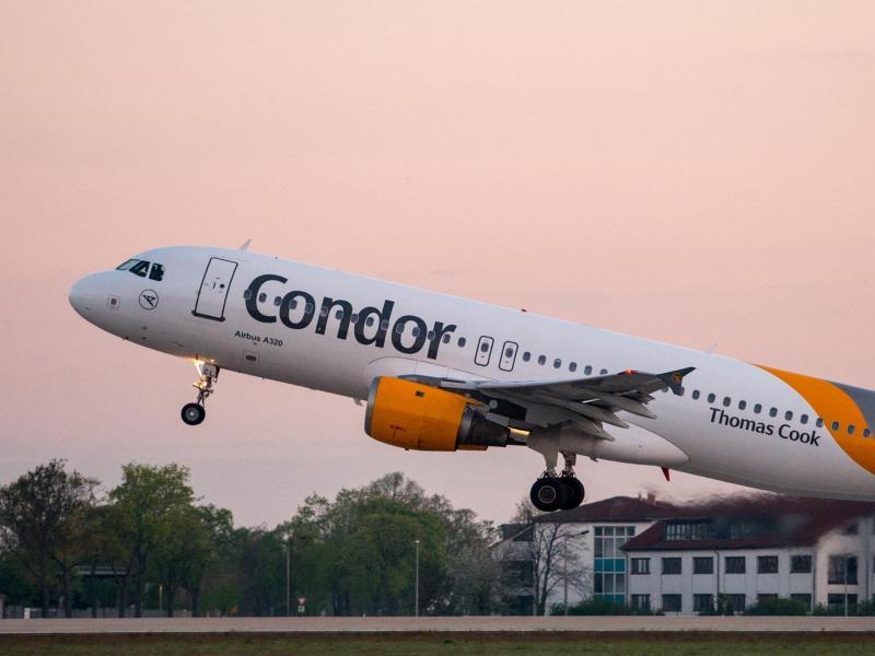 """Reisekonzern """"DER Touristik"""" signalisiert Bereitschaft an Condor-Beteiligung"""