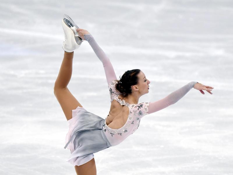 Eiskunstläuferin Nicole Schott holt Olympia-Ticket