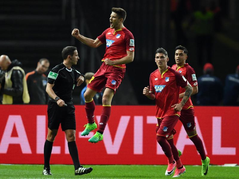 3:1 in Berlin: Hoffenheim vorerst auf Rang drei