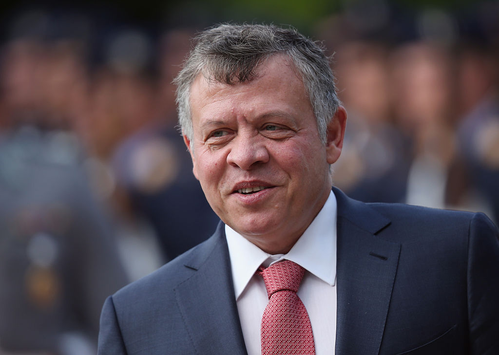 Präsident Trump empfängt jordanischen König Abdullah