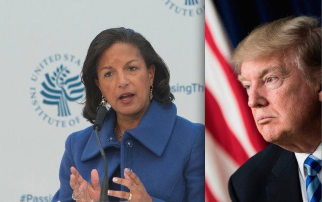 Obamas Ex-Sicherheitsberaterin Susan Rice soll das Trump-Team ausspioniert haben. Foto:  CHRIS KLEPONIS/AFP/Getty Images