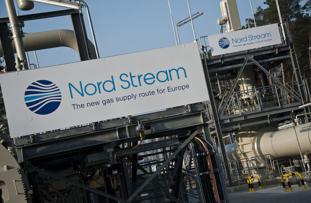 Nordstream Gasanlage in Lubmin. Foto: JOHN MACDOUGALL/AFP/Getty Images