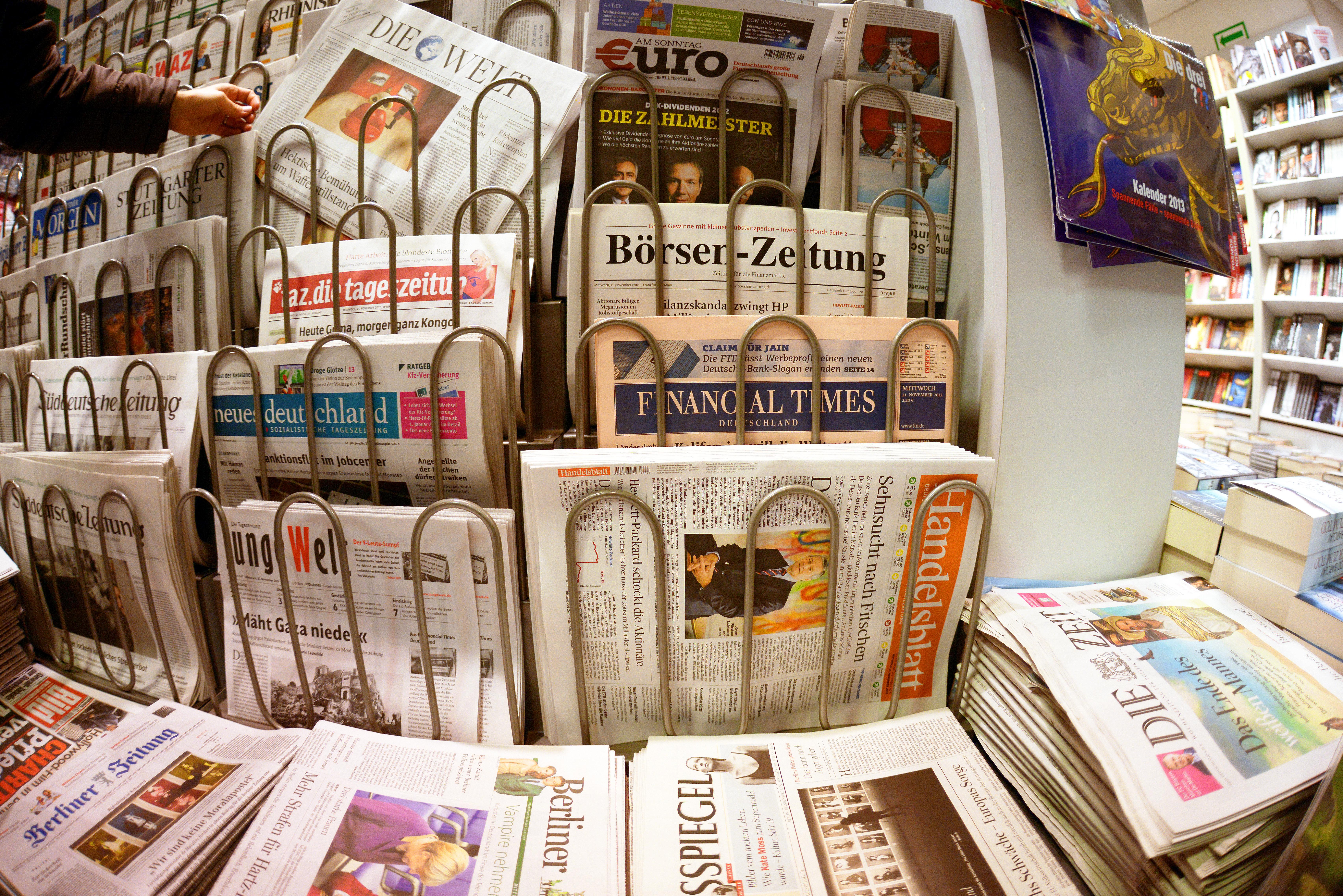 Zeitungs-Auflagen brechen weiter ein: Verluste für Bild, Welt und FAZ