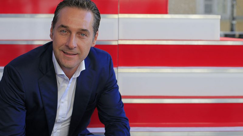 Heinz-Christian Strache.