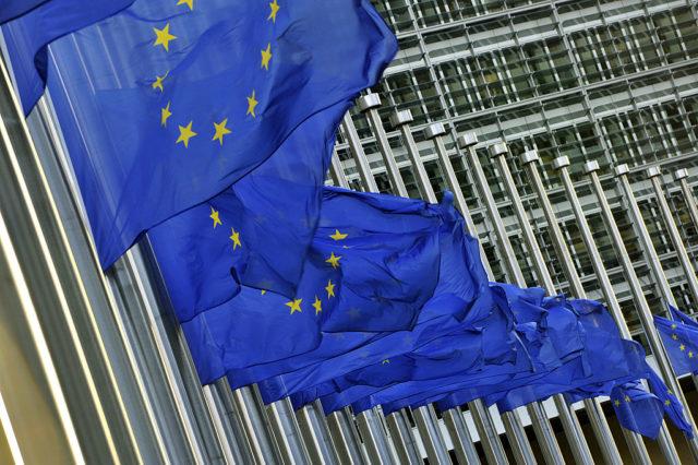 EU-Flaggen Foto: GEORGES GOBET/AFP/Getty Images