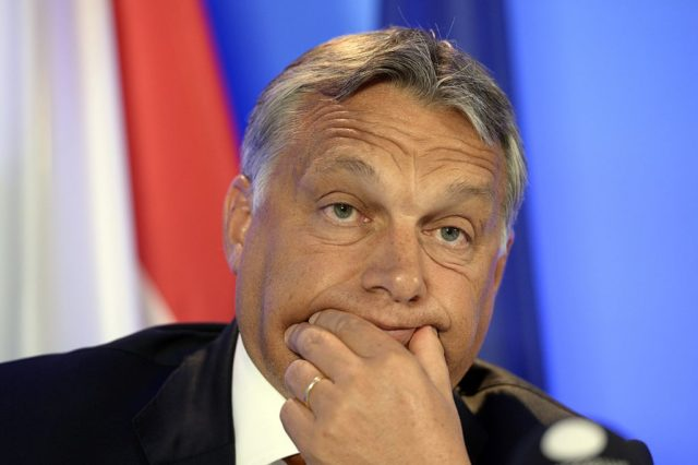 Ungarns Premieminister Viktor Orban Foto: THIERRY CHARLIER/AFP/Getty Images