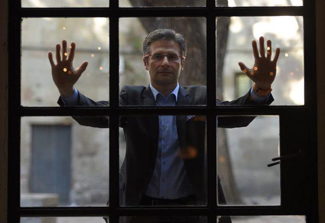Der homosexuelle ehemalige Priester Krzysztof Charamsa. Foto: LLUIS GENE/AFP/Getty Images