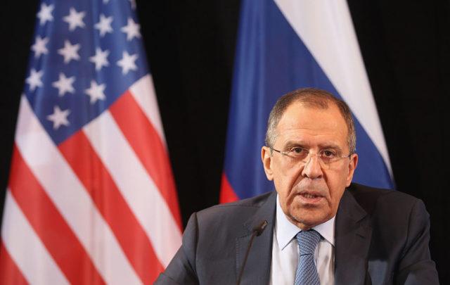 Der russische Außenminister Sergej Lawrow. Foto: Alexandra Beier/Getty Images