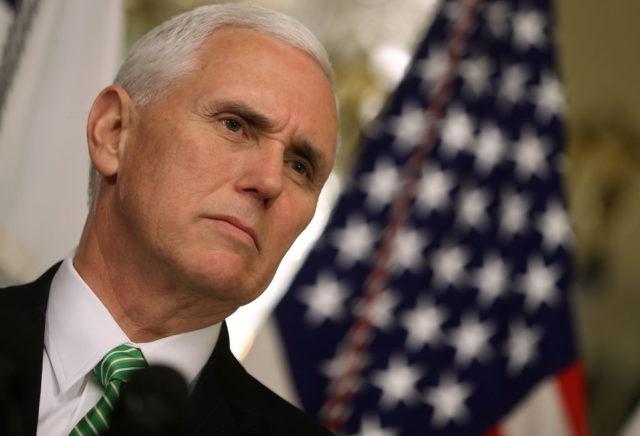 US-Vizepräsident Mike Pence Foto: Justin Sullivan/Getty Images
