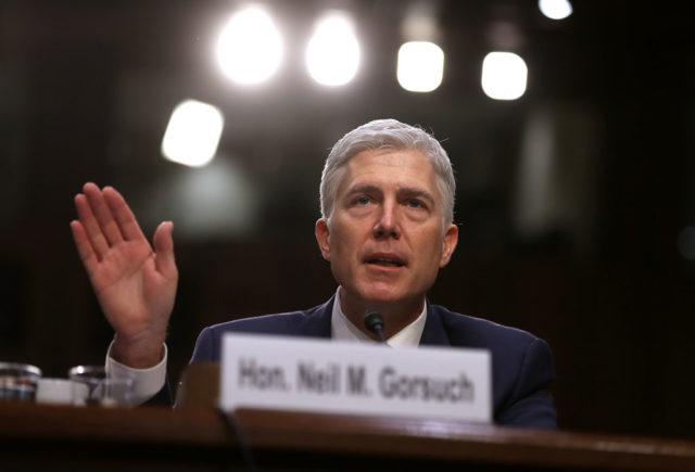 Richter Neil Gorsuch Foto: Justin Sullivan/Getty Images