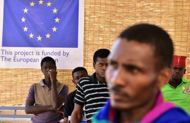 Libysche Flüchtlinge (Symbolbild) Foto: ISSOUF SANOGO/AFP/Getty Images